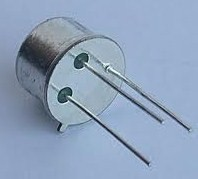 2N1711 Transistor NPN 75V/0,5A/0,8W capsula metal TO39